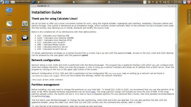 Calculate Linux le guide d'installation