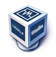 Le logo de VirtualBox d'Oracle