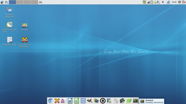 Calculate Linux 12.0 xfce