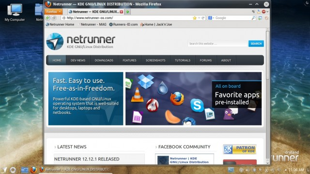 Site officiel de Netrunner