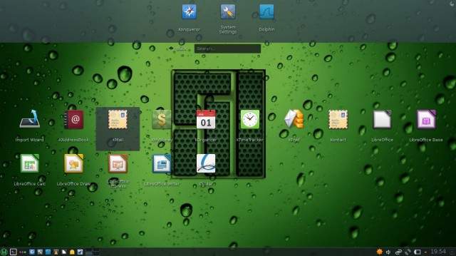 Manjaro kde choix applications