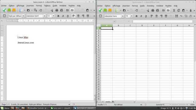 Libre Office Linux Mint