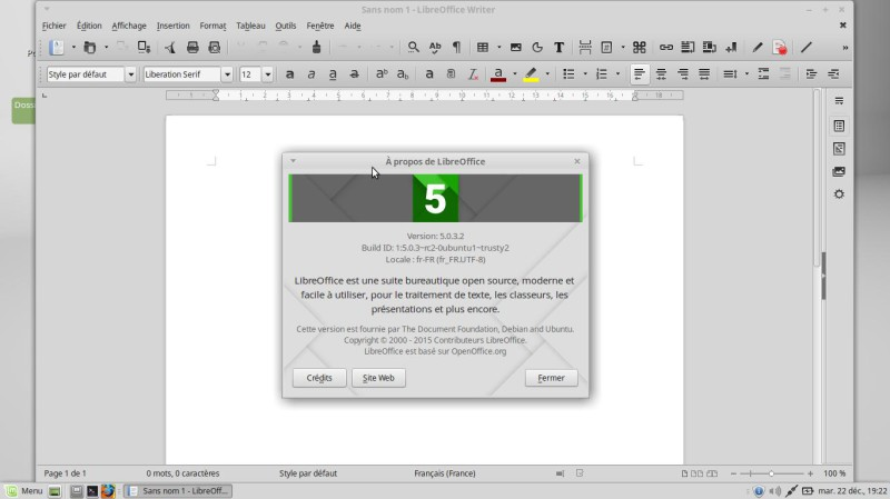 Libre office 5