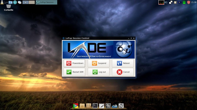 Simplicity lxde