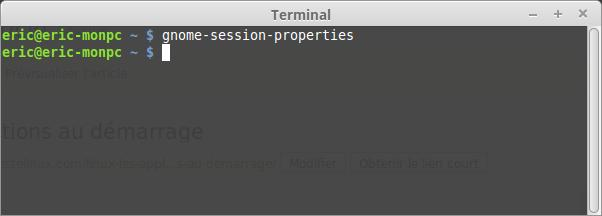gnome-session-properties