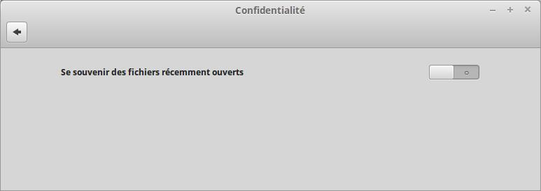 Plus de liste de documents ouverts