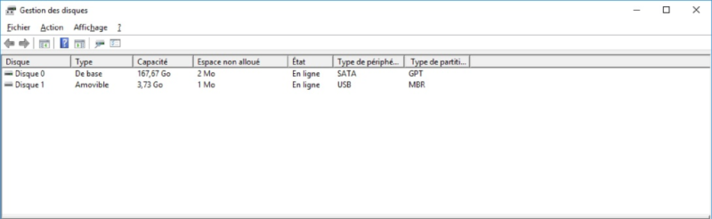 Table de partitions GPT