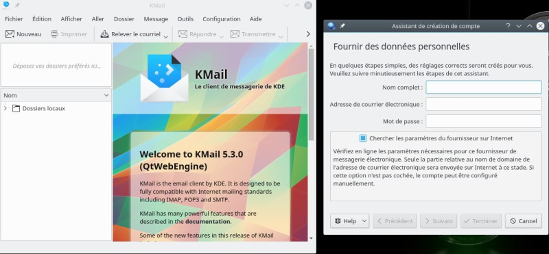 OpenSuse kmail