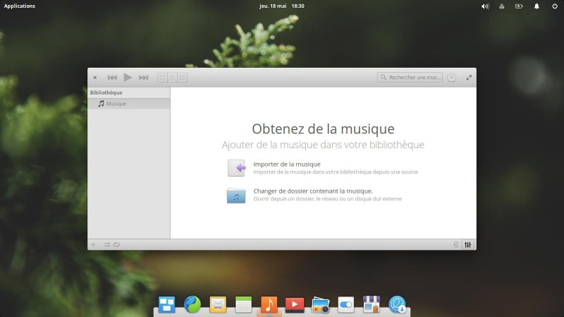 Elementary OS Musique