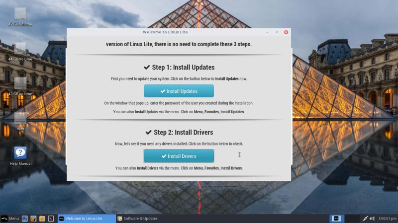 Install drivers linux Lite 3.4