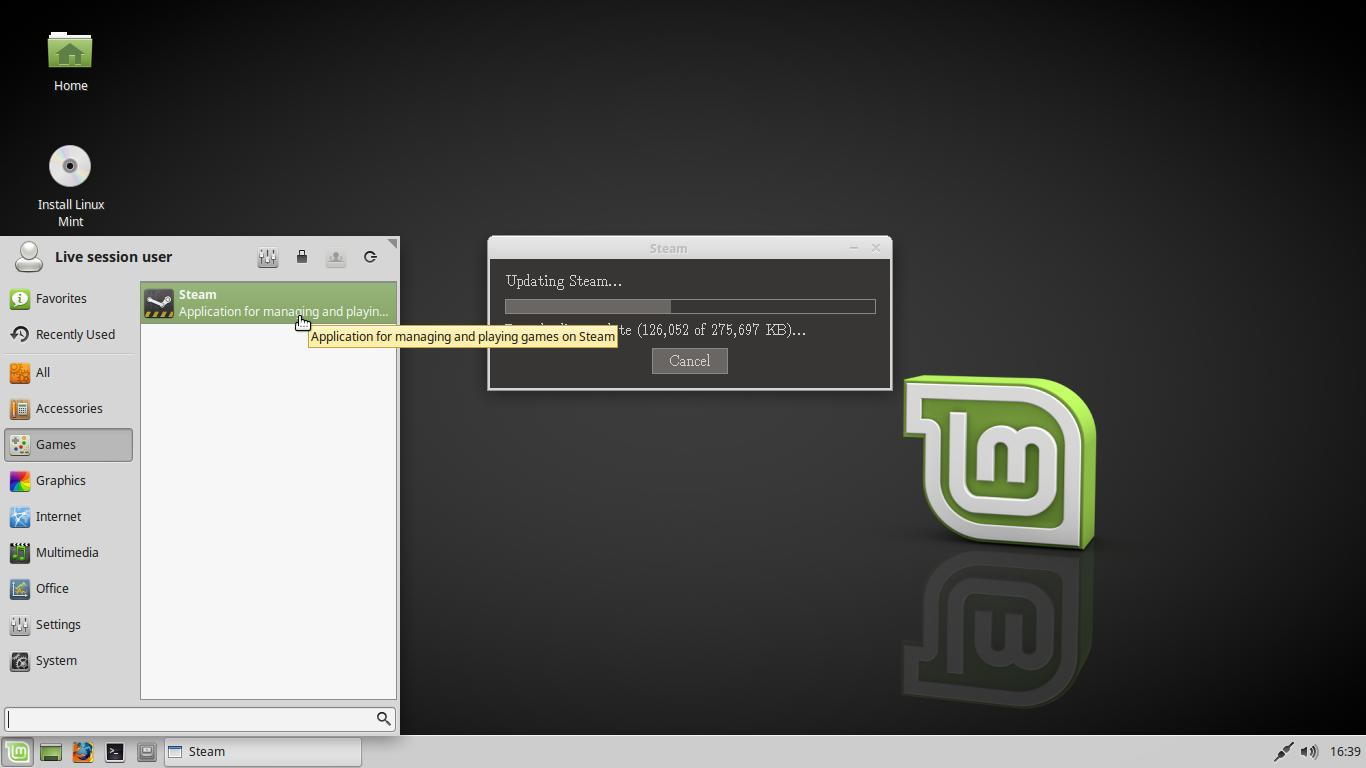 linux mint 18 2 avec l 39 environnement de bureau xfce. Black Bedroom Furniture Sets. Home Design Ideas