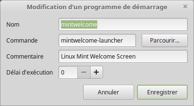 Welcome Linux Mint