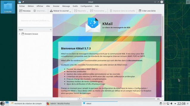 Kmail OpenSuse 15.0