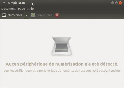 Ubuntu mate Simple Scan